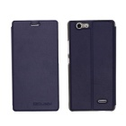 OCUBE PU Leather Case for Oukitel C4  Mobile Phone - Deep Blue