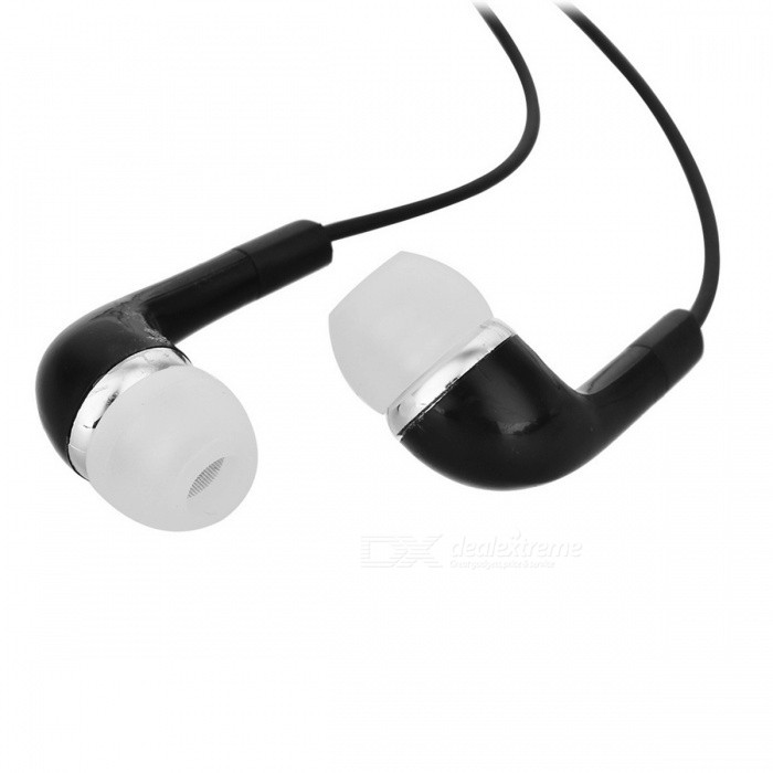 Collar Clip On In Ear Stereo Bluetooth Earphone Black