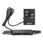 Guitar-Sound-Holes-Pickup-w-Volume-Controller-Black