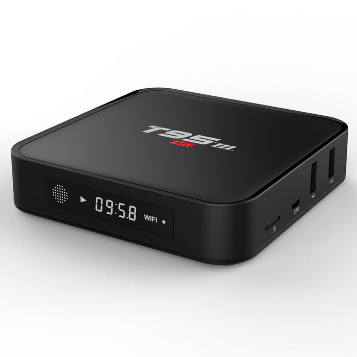 Buy T95m Android 6.0 Smart TV Box w/ 1GB RAM, 8GB ROM - Black (EU Plug) with Litecoins with Free Shipping on Gipsybee.com