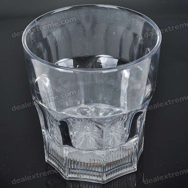 Buy 6-LED Flash Multi-Color Bar Night Light Acrylic Drink Cup (3 *AG13) with Litecoins with Free Shipping on Gipsybee.com