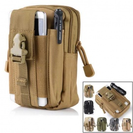 KICCY Tactical Molle Bag Belt Waist Pack for Samsung, IPHONE