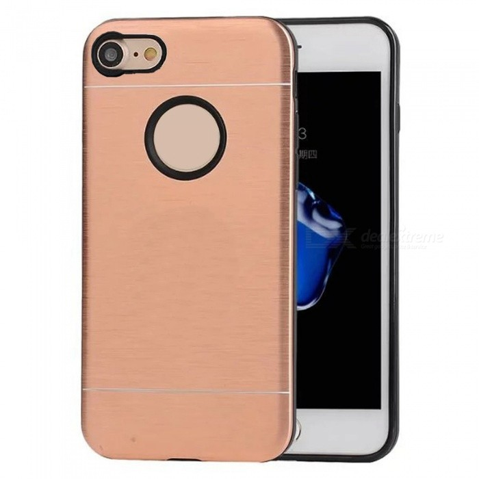 Cwxuan Ultra Thin TPU Case with Aluminum Ring Bracket for IPHONE 7Metal Cases<br>Form  ColorRose GoldQuantity1 DX.PCM.Model.AttributeModel.UnitMaterialAluminum + TPUCompatible ModelsiPhone 7StyleBack CasesPacking List1 * Case<br>