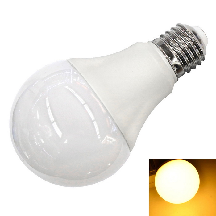 E27 12W 1100LM 3000K Warm White 40-2835 SMD 270° Wide-Angle BulbE27<br>Color BINWarm WhiteMaterialABSForm  ColorWhiteQuantity1 DX.PCM.Model.AttributeModel.UnitPower12WRated VoltageAC 100-240 DX.PCM.Model.AttributeModel.UnitConnector TypeE27Emitter TypeOthers,2835 SMDTotal Emitters40Theoretical Lumens1100 DX.PCM.Model.AttributeModel.UnitActual Lumens1100 DX.PCM.Model.AttributeModel.UnitColor Temperature3000KDimmableNoPacking List1 * Bulb<br>