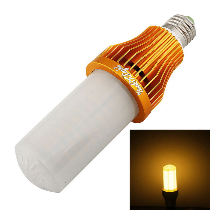 YouOKLight YK1105 E27 15W Warm White LED Corn Lamp (AC 110~250V)E27<br>Color BINWarm WhiteModelYK1105MaterialAluminum and PlasticForm  ColorWhite + SilverQuantity1 DX.PCM.Model.AttributeModel.UnitPowerOthers,15WRated VoltageOthers,AC 110~250 DX.PCM.Model.AttributeModel.UnitConnector TypeE27Emitter Type3528 SMD LEDTotal Emitters260Theoretical Lumens1500 DX.PCM.Model.AttributeModel.UnitActual Lumens1300 DX.PCM.Model.AttributeModel.UnitColor Temperature3000KDimmableNoBeam Angle360 DX.PCM.Model.AttributeModel.UnitPacking List1 * LED Corn Bulb<br>