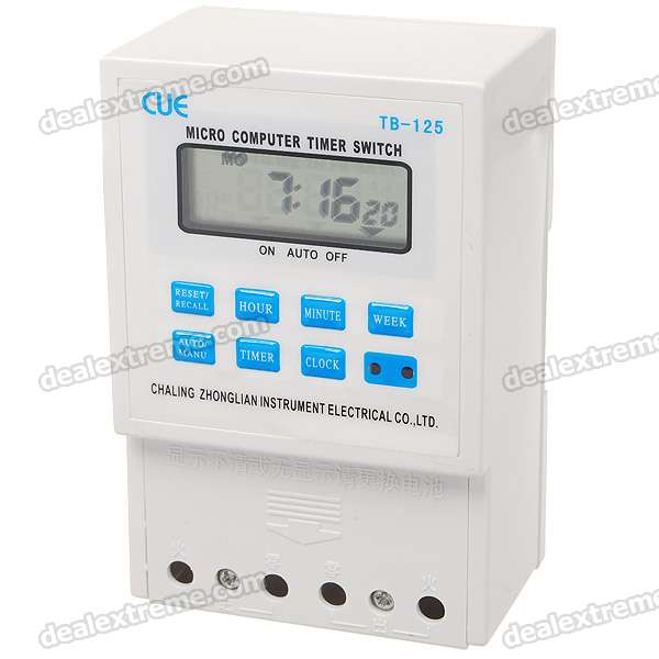 "2,0 ""LCD Micro-Computer Electric Power Timer Switch Time Controller Kello (220V)"