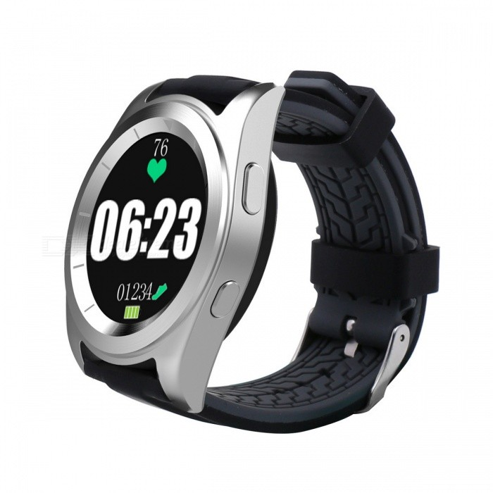 ... G6 Bluetooth Heart Rate Monitor Stainless Steel Smart Watch - Silver ...