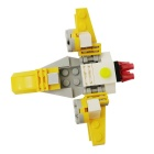 DIY Particles Assembled X-Wing Fighter Building Block Educational Toy