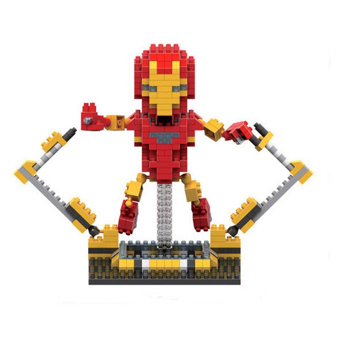 3D Stereo Diamond Particles Iron Man DIY Puzzle Toy for KidsBlocks &amp; Jigsaw Toys<br>Form  ColorRed + Yellow + Multi-ColoredMaterialABSQuantity1 DX.PCM.Model.AttributeModel.UnitNumber330pcsSize16.5*11.5cmSuitable Age 12-15 years,Grown upsPacking List1 * Iron Man Puzzle Toy<br>