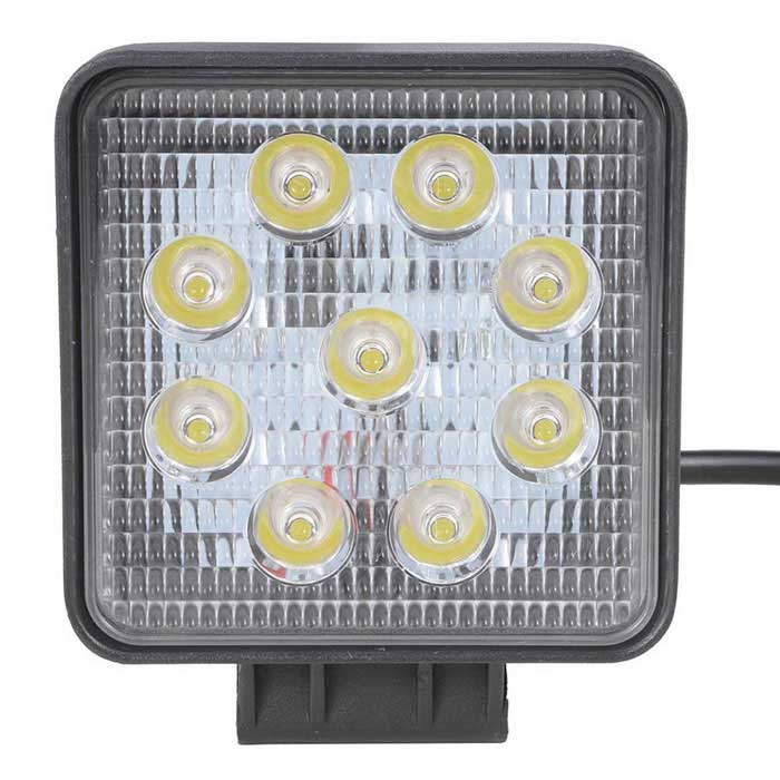 exLED 27W Round Spot LED Work Light Driving Fog Light Off Road Lights for sale in Bitcoin, Litecoin, Ethereum, Bitcoin Cash with the best price and Free Shipping on Gipsybee.com