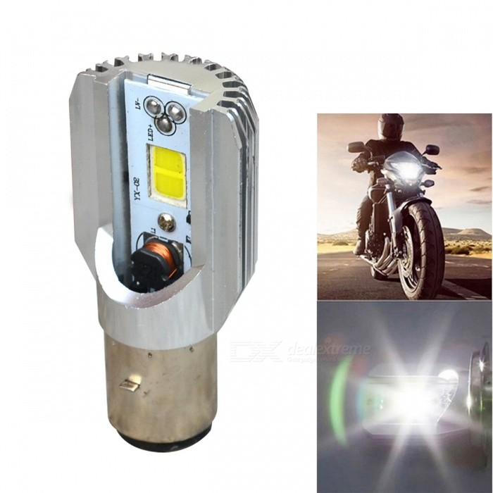 Jiawen High light 12W Motorcycle LED Headlight COB Ba20d Bulb (6~80V)