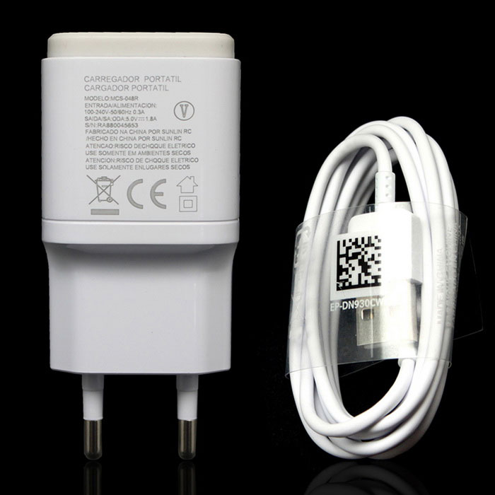 EU Plug USB 5V 1.8a Adaptive Fast Charger + Charging Cable - WhiteAC Chargers<br>Form  ColorWhiteModelN/AMaterialABSQuantity1 DX.PCM.Model.AttributeModel.UnitCompatible ModelsLG  G5Input Voltage100-240 DX.PCM.Model.AttributeModel.UnitOutput Current1.8 DX.PCM.Model.AttributeModel.UnitOutput Voltage5 DX.PCM.Model.AttributeModel.UnitPower AdapterEU PlugPacking List1 * EU charger<br>