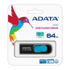 ADATA UV128 USB 3.0 64GB Flash Drive Blue AUV128-64G-RBE - Blue