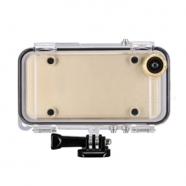 Waterproof-Case-w-Wide-angle-Lens-Gopro-Connector-for-IPHONE-6-PLUS