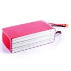 HJ 22.2V 22000mAh 25C T Plug Lipo Battery for Drone - Red