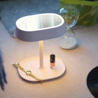 Mode LED-Make-up Spiegel Tisch / Bett Lampe - rosa