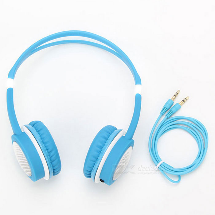 DM-2760 Colorful Headband Headset - Blue + WhiteHeadphones<br>Form  ColorBlue + WhiteBrandOthers,-ModelDM-2760MaterialABSQuantity1 DX.PCM.Model.AttributeModel.UnitShade Of ColorBlueConnection3.5mm WiredBluetooth VersionNoConnects Two Phones SimultaneouslyNoCable Length120 DX.PCM.Model.AttributeModel.UnitHeadphone StyleHeadbandWaterproof LevelIPX0 (Not Protected)Applicable ProductsPS3,IPHONE 5,IPHONE 4,IPHONE 4S,IPHONE 3G,IPHONE 3GS,IPOD,Universal,Cellphone,MP3,PDA,MP4,Tablet PC,IPHONE 5S,IPHONE 5C,IPHONE 6,IPHONE 6 PLUS,IPHONE 6S,IPHONE 6S PLUS,IPHONE SEHeadphone FeaturesHiFi,English Voice Prompts,Noise-Canceling,Lightweight,Portable,Game Headset,For Sports &amp; ExerciseSupports MusicYesRadio TunerNoSupport Memory CardNoSupport Apt-XNoImpedance32 DX.PCM.Model.AttributeModel.UnitBattery TypeOthers,NoPower AdapterWithout Power AdapterPacking List1 * Headset1 * Cable<br>