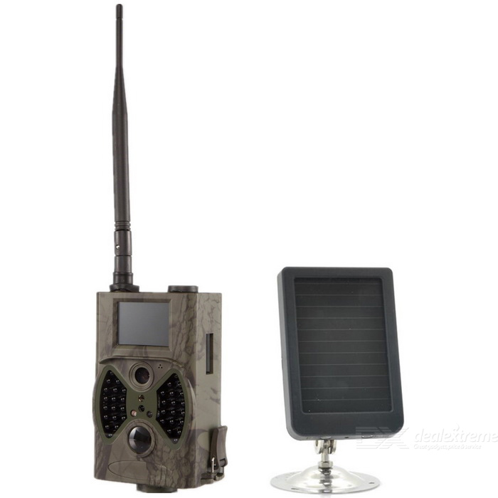 HC 300M 2quot 12MP Solar Powered Trail Hunting Camera