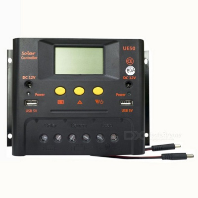 Solar Charge Controller 24V / 60A with LCD Display for Solar System