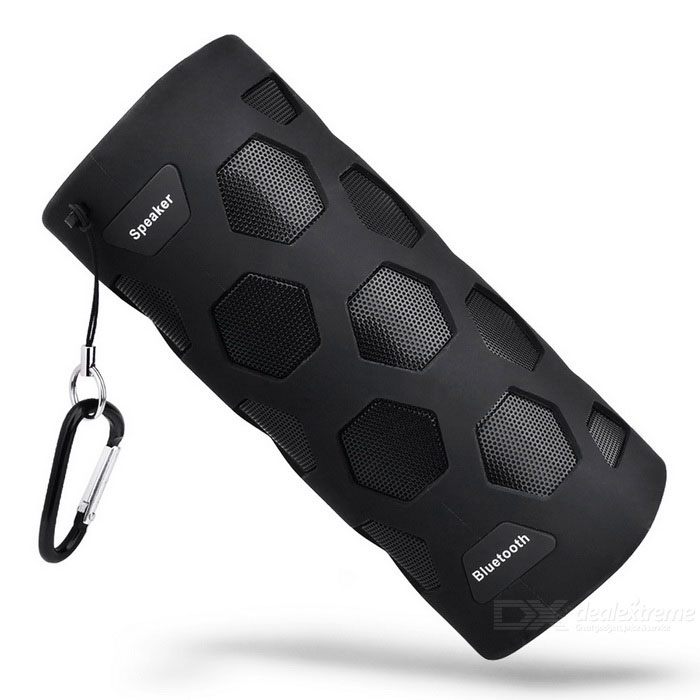 Wasserdichter Bluetooth Lautsprecher 10W Super Bass NFC mit Mic / Power Bank