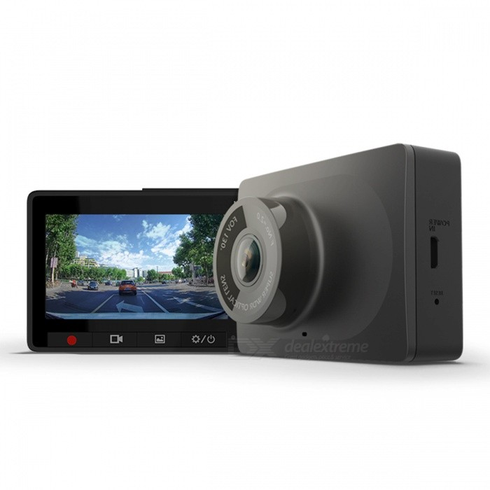 Xiaomi YI 1080P ADAS 2.7 LCD  Smart Car Dash Camera w/ 32GB TF CardCar DVRs<br>Form  ColorBlack (w/ 32GB TF card)ModelYCS.1216Quantity1 DX.PCM.Model.AttributeModel.UnitMaterialPC + ABSChipsetOthers,G-sensorScreen Size2-2.9Other FeaturesWi-Fi,IR Night Vision,Microphone,Loop Record,OthersScreen Resolution:1920 x 1080 DX.PCM.Model.AttributeModel.UnitWide Angle120°-149°Camera Lens1Image SensorOthers,G-SensorImage Sensor Size1/2.7 inchesCamera PixelOthers,2.0MPVideo FormatMP4Decode FormatH.264Video Resolution1080FHD(1920 x 1080)Video Frame Rate30ImagesJPGStill Image ResolutionOthers,1920*1080/1280*720MicrophoneYesAuto-Power OnYesG-sensorYesMax. Capacity32GBStorage ExpansionTFAV InterfaceOthers,NoData interfaceMicro USBWorking Voltage   5 DX.PCM.Model.AttributeModel.UnitMenu LanguageChinese SimplifiedPacking List1 * YI Dash camera1 * Bracket1 * Car charger1 * USB Cable (3.5m)1 * Chinese manual1 * 32GB TF Card (Class 10)<br>