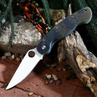 PA60 Outdoor Multi-function Folding Camping Knife - Camouflage
