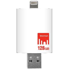 Strontium iDrive SR128GWHOTGAZ 128GB Flash Drive for IPHONE and iPAD