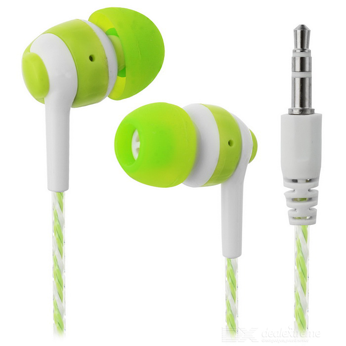 JEDX Outdoor Sports 3.5mm Plug Wired In-Ear Earphone - Green + WhiteHeadphones<br>Form  ColorGreen + WhiteBrandOthers,JEDXMaterialABSQuantity1 DX.PCM.Model.AttributeModel.UnitShade Of ColorGreenConnection3.5mm WiredBluetooth VersionNoCable Length115 DX.PCM.Model.AttributeModel.UnitLeft &amp; Right Cables TypeEqual LengthHeadphone StyleBilateral,In-EarWaterproof LevelIPX0 (Not Protected)Applicable ProductsUniversalHeadphone FeaturesLightweight,PortableSupports MusicYesRadio TunerNoSupport Memory CardNoSupport Apt-XNoPacking List1 * Earphone<br>