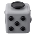 Fidget Dice Toy for Focusing / Stress Relieving - Black + Iron Grey