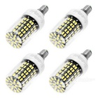 Youoklight E12 10W LED Maisbirne kaltes weißes Licht 108-SMD 5733 (4PCS)