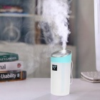 3-in-1 300mL Mulitfunction Humidifier for Home / Office - White + Blue