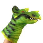 Silicone Triceratops Hand Finger Toy
