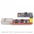 OPEN-SMART ESP8266 Wi-Fi Transceiver Module + USB to ESP-01 Adatper