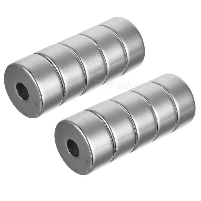 20mm * 10mm Round Shaped Magnetic NdFeB Magnets - Silver (10 PCS)Magnets Gadgets<br>Form ColorSilverMaterialNdFeBQuantity1 SetNumber10Suitable Age 12-15 Years,GrownupsPacking List10 * Magnets<br>