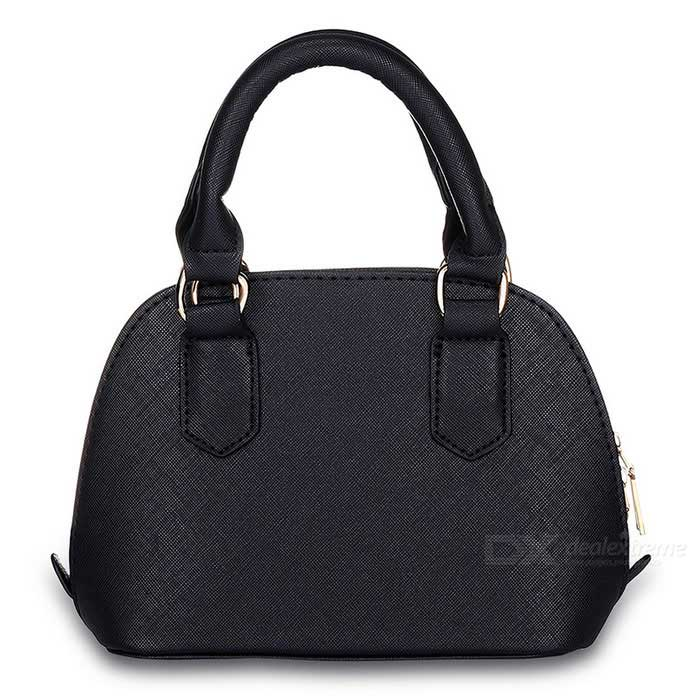 F001-3-Fashion-Womens-Handbag-Shell-Crossbody-Bag-Black