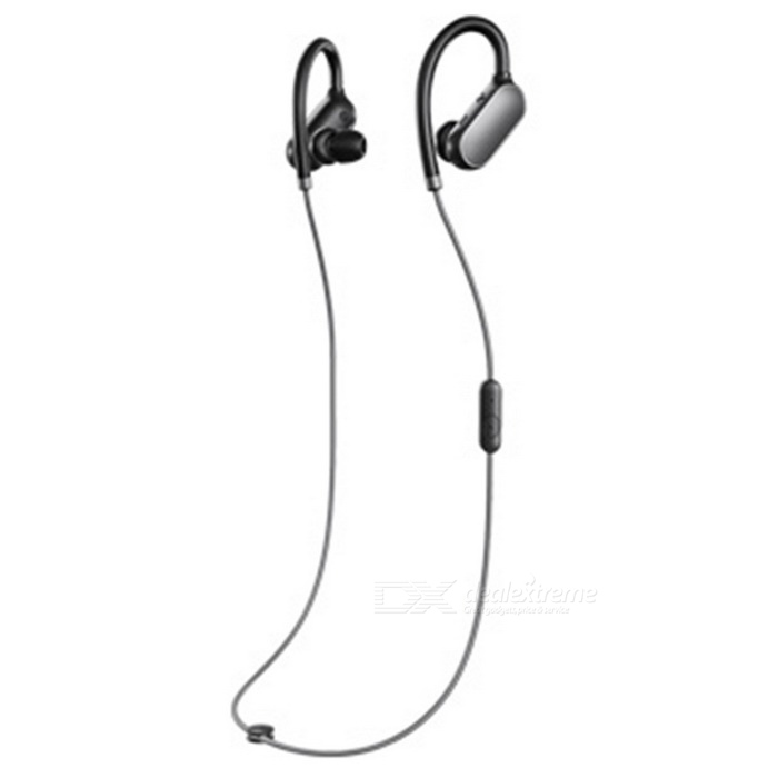 Buy Xiaomi Sports Bluetooth V4.1 Earhook In-Ear Headset - Black with Litecoins with Free Shipping on Gipsybee.com