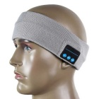 Cwxuan BT-03S Sport Wireless Bluetooth Hat Headset - Light Grey