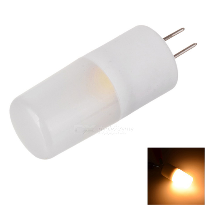 Marsing G4 3W 300lm COB LED Warm White Light Pin Bulb (AC / DC 12V)G4<br>Color BINWarm WhiteMaterialCeramicForm  ColorWhite + Yellow + Multi-ColoredQuantity1 DX.PCM.Model.AttributeModel.UnitPower3WRated VoltageOthers,AC / DC 12 DX.PCM.Model.AttributeModel.UnitConnector TypeG4Emitter TypeCOBTotal Emitters1Actual Lumens200~300 DX.PCM.Model.AttributeModel.UnitColor Temperature12000K,Others,2800~3000KDimmableNoBeam Angle360 DX.PCM.Model.AttributeModel.UnitPacking List1 * LED Bulb<br>