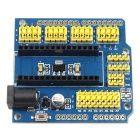 Nano V3.0 Shield UNO Shield Expansion Board for Arduino - Blue +Yellow