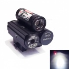 ACCU Multifunctional 2-in-1 LED 260lm White Flashlight + Red Laser