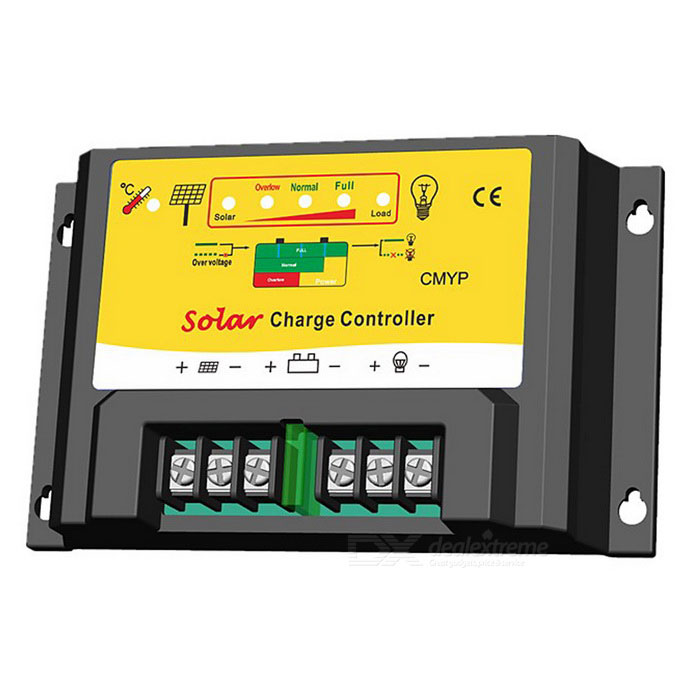 CMYP-2420 PWM 24V 20A Solar Powered Charge Controller for SystemSolar Powered Gadgets<br>Form  ColorBlack + YellowModelCMYP-2420MaterialPVCQuantity1 DX.PCM.Model.AttributeModel.UnitPower240/480 DX.PCM.Model.AttributeModel.UnitWorking Voltage   12/24 DX.PCM.Model.AttributeModel.UnitWorking Current20 DX.PCM.Model.AttributeModel.UnitPacking List1 * Solar Controller1 * Instruction<br>