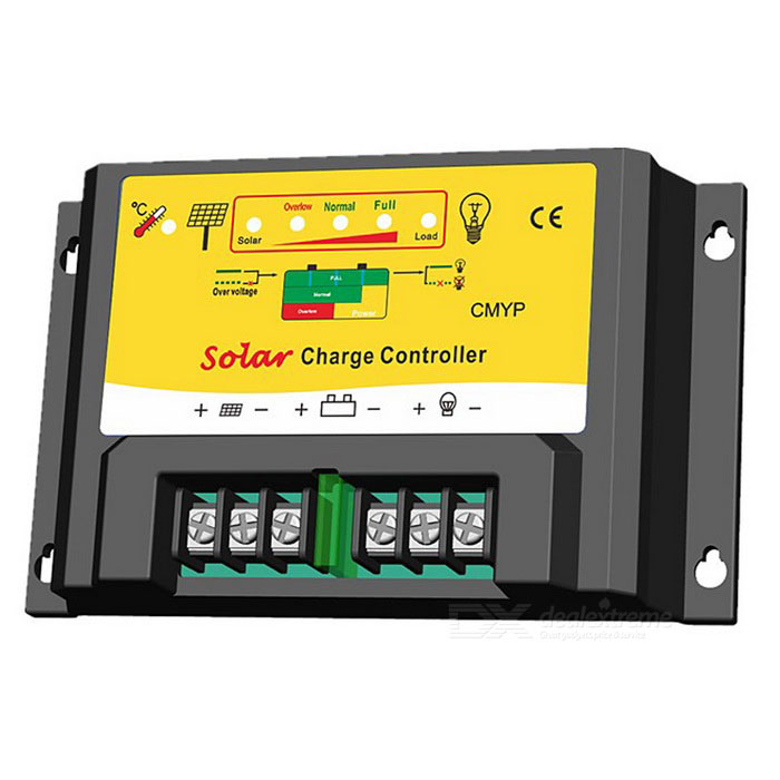 CMYP-2410 PWM 24V 10A Solar Powered Charge Controller for SystemSolar Powered Gadgets<br>Form  ColorBlack + YellowModelCMYP-2410MaterialPVCQuantity1 DX.PCM.Model.AttributeModel.UnitPower120/240 DX.PCM.Model.AttributeModel.UnitWorking Voltage   12/24 DX.PCM.Model.AttributeModel.UnitWorking Current10 DX.PCM.Model.AttributeModel.UnitPacking List1 * Solar Controller1 * Instruction<br>