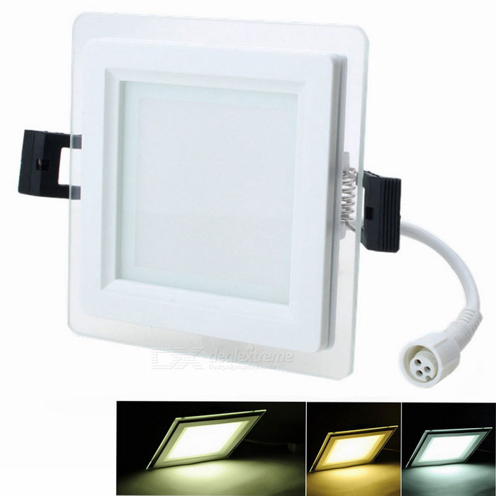 ZHISHUNJIA Square 6W SMD 12*5730 Dimmable LED Ceiling Lamp 2700~6500KCeiling Light<br>Form  ColorWhite (Square 6W)Color BINVariable temperature (2700K-6500K)ModelRNZ-6WQuantity1 DX.PCM.Model.AttributeModel.UnitMaterialAluminium alloyPower6WRated VoltageAC 85-265 DX.PCM.Model.AttributeModel.UnitChip BrandOthers,SamsungChip Type5730Emitter TypeLEDTotal Emitters12Theoretical Lumens540 DX.PCM.Model.AttributeModel.UnitActual Lumens450 DX.PCM.Model.AttributeModel.UnitColor Temperature12000K,Others,2700~6500KDimmableYesBeam Angle120 DX.PCM.Model.AttributeModel.UnitExternal Diameter95 DX.PCM.Model.AttributeModel.UnitHole diameter75 DX.PCM.Model.AttributeModel.UnitHeight3 DX.PCM.Model.AttributeModel.UnitPacking List1 * LED lamp<br>