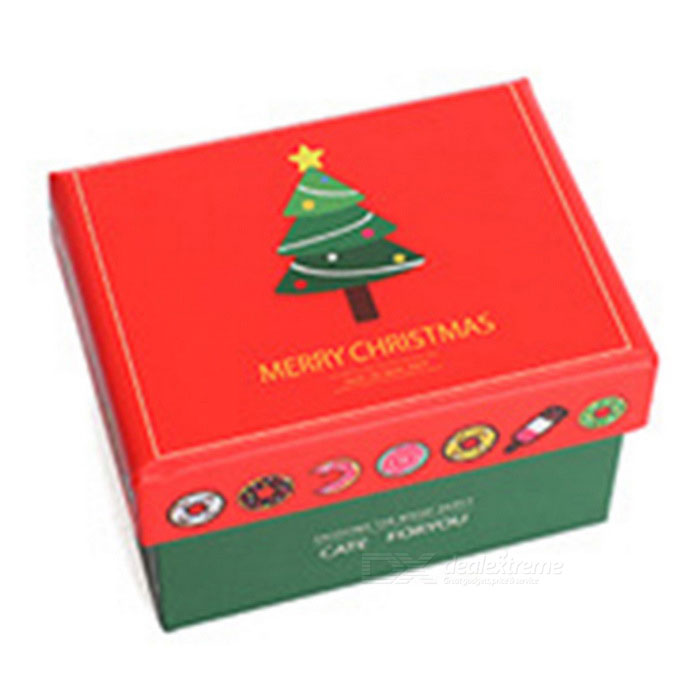 Delicate Christmas Packaging Gift Box (S Size)Lifestyle Gadgets<br>Form  ColorRedMaterialPaperQuantity1 DX.PCM.Model.AttributeModel.UnitPacking List1 * Gift Box<br>