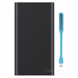 Xiaomi 10000mAh Quick Charge Mobile Power II + Blue LED Light -Tarnish