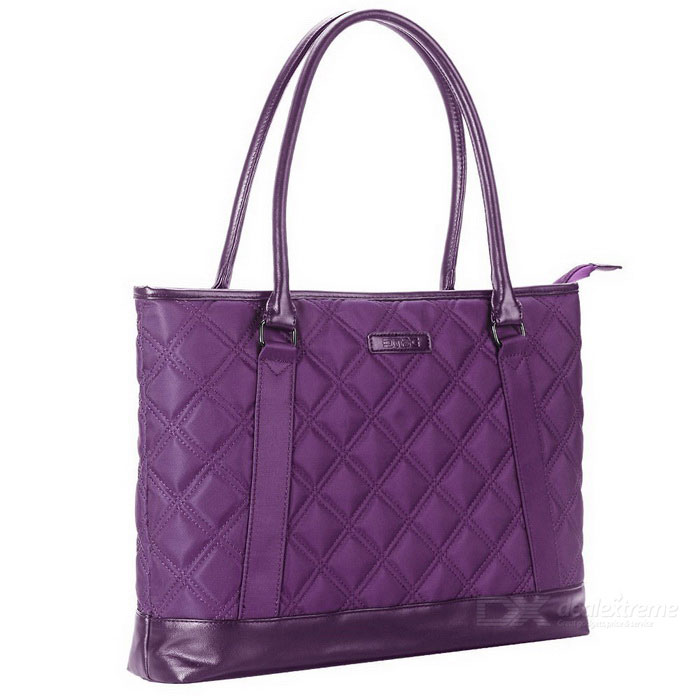 DTBG D8194W 15.6 Nylon Classic Diamond Pattern Laptop Tote Bag-PurpleBags and Pouches<br>Form  ColorPurpleModelD8194WQuantity1 DX.PCM.Model.AttributeModel.UnitShade Of ColorPurpleMaterialNylonCompatible Size15.6 inchTypeTote BagsPacking List1 * Tote bag<br>