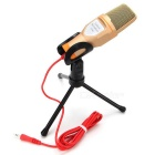 SF-666-Capacitive-Microphone-Gold