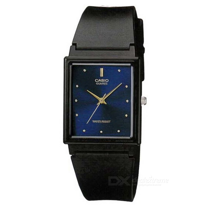 CASIO MQ-38-2ADF Men's QuartzWatch - Black + Cobalt Blue (Without Box)