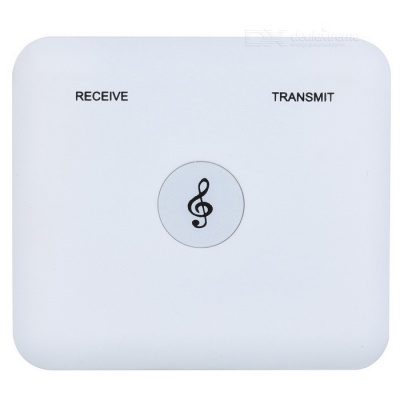 Wireless 2-in-1 Bluetooth v4.1 Audio Receiver / Transmitter - White