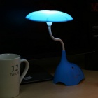 YouOKLight 3-Mode Dimmable 4-LED Cold White Desk Night Light - Blue